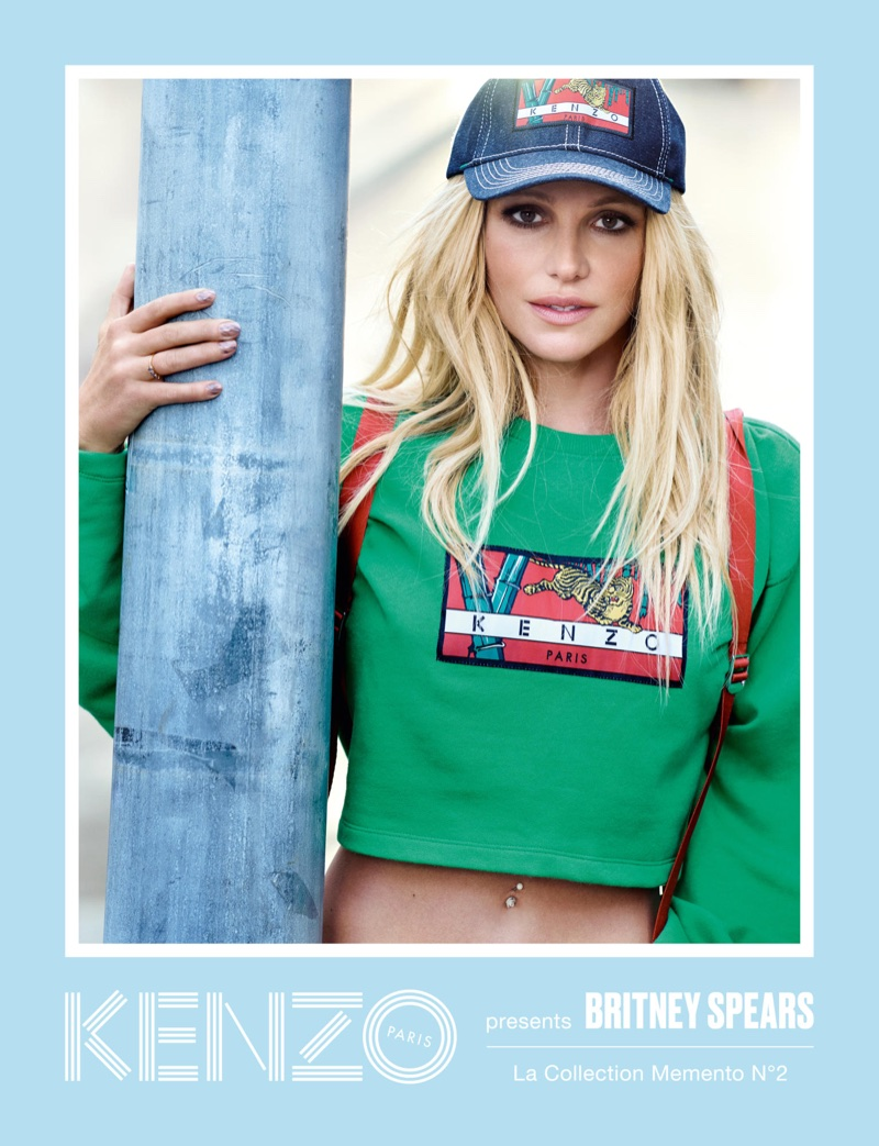 Kenzo taps pop star Britney Spears for La Collection Memento No. 2 campaign
