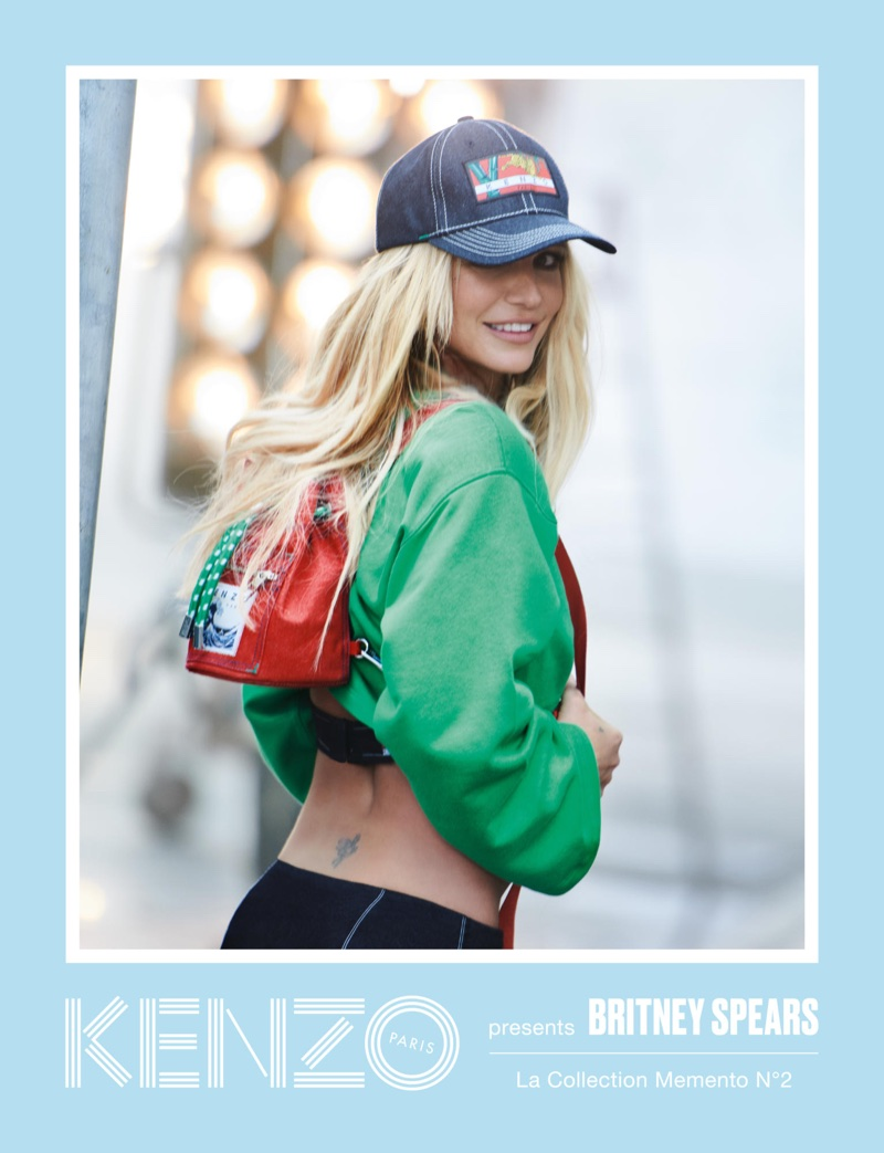 Singer Britney Spears fronts Kenzo La Collection Memento No. 2 campaign