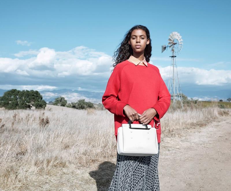 Alyssa Traoré fronts CK Calvin Klein's spring-summer 2018 campaign