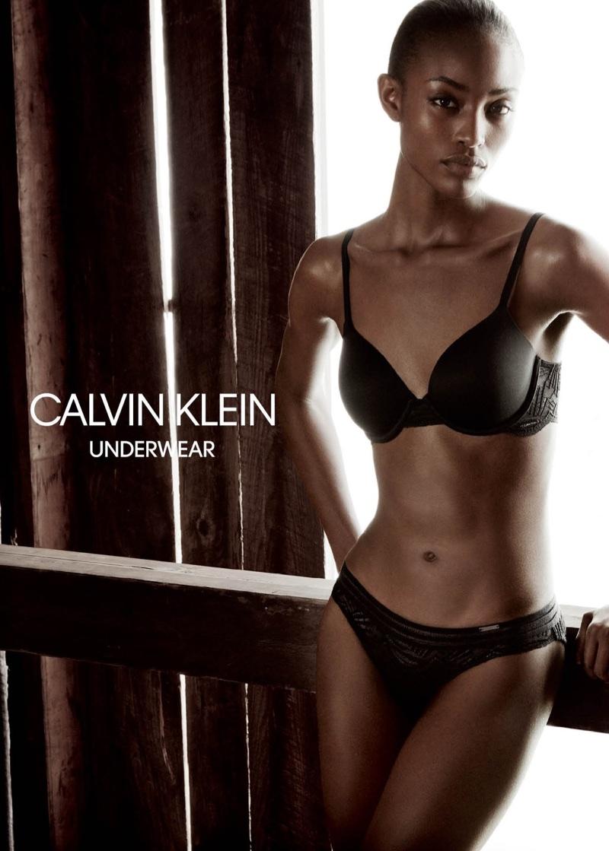 Alicia Burke stars in Calvin Klein Underwear's spring-summer 2018 campaign