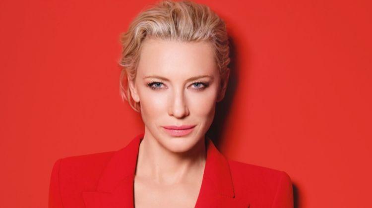 Cate Blanchett Suits Up for Armani 'Sì Passione' Campaign