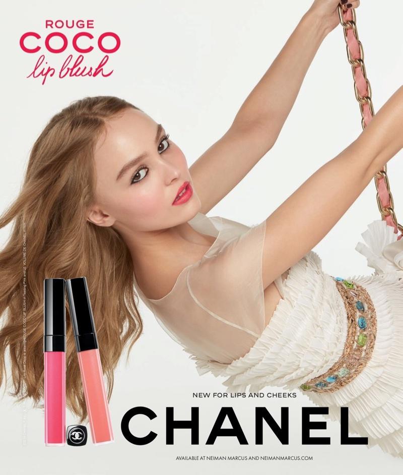 Chanel unveils Coco Rouge Lip Blush campaign