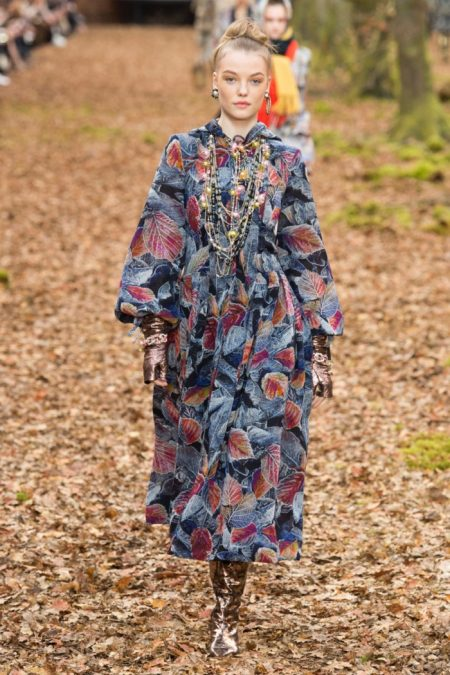 Chanel Goes Through the Woods for Fall 2018