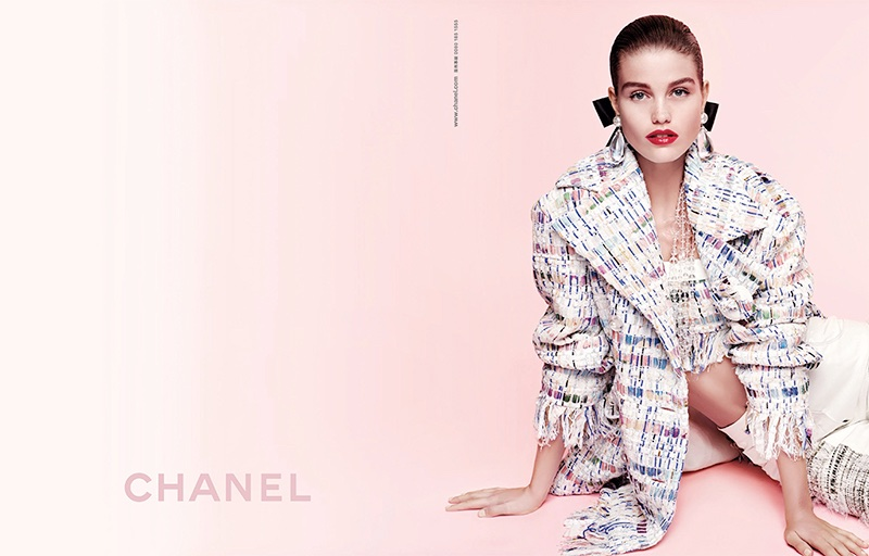 Luna Bijl stars in Chanel's spring-summer 2018 campaign