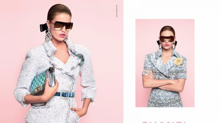 Chanel spotlights tweed pieces in spring-summer 2018 campaign