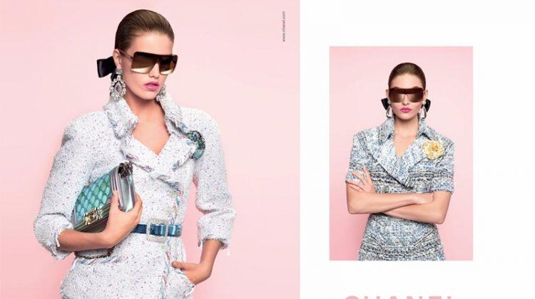 Grace Elizabeth & Luna Bijl Rock Pastels in Chanel's Spring 2018 Campaign