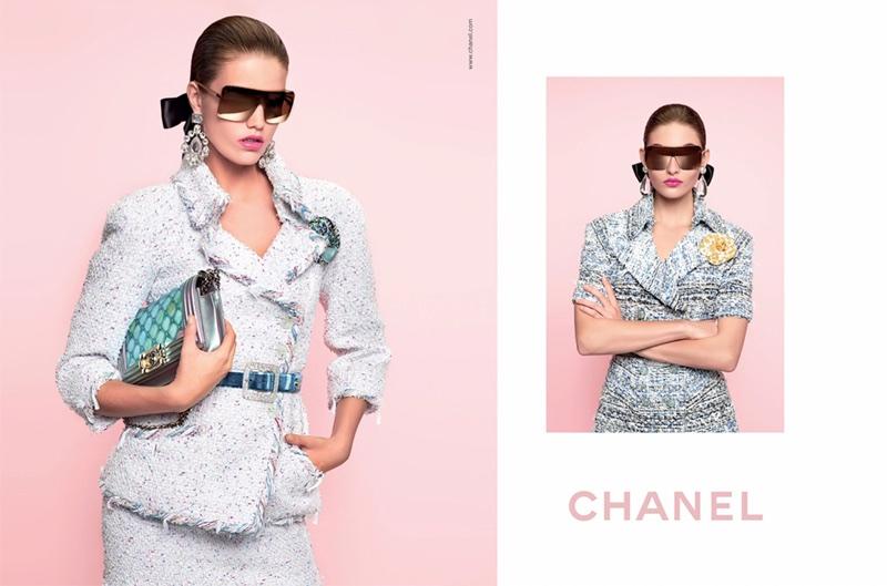 Chanel spotlights tweed pieces in spring-summer 2018 campaign