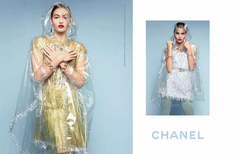 Grace Elizabeth and Luna Bijl star in Chanel's spring-summer 2018 campaign
