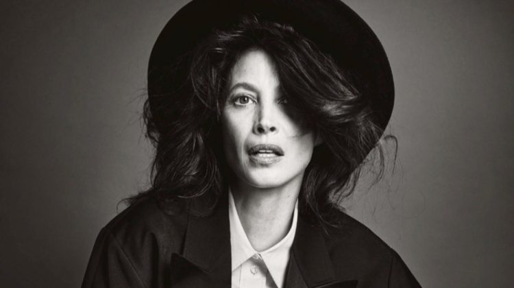 Christy Turlington Poses in Chic Fashions for Vogue Japan