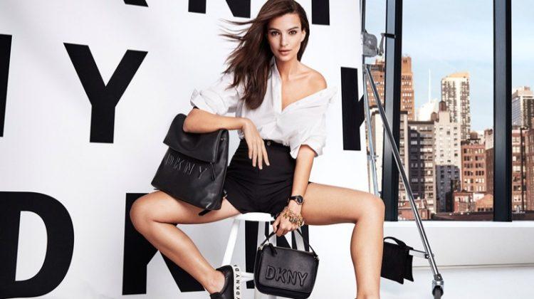 Emily Ratajkowski stars in DKNY's spring-summer 2018 campaign