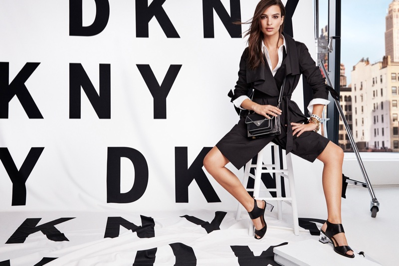 DKNY enlists Emily Ratajkowski for spring-summer 2018 campaign