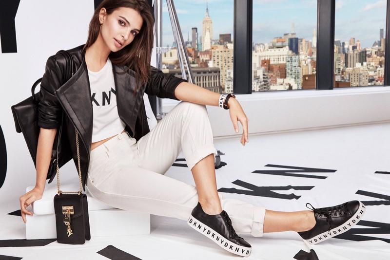 Emily Ratajkowski fronts DKNY's spring-summer 2018 campaign