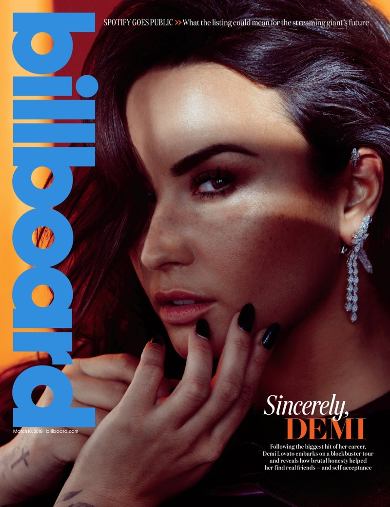 Demi Lovato on Billboard Magazine March 10th, 2018 Cover