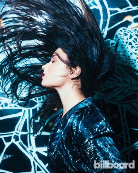 Demi Lovato Poses in Glam Looks for Billboard Magazine