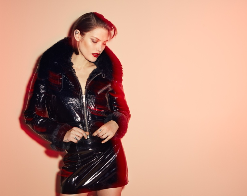 Catherine McNeil fronts Elizabeth Sulcer x Miss Sixty campaign