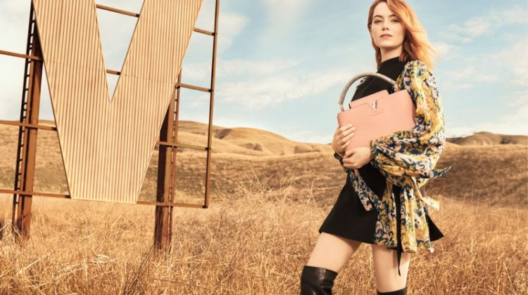 Emma Stone Lands Her First Louis Vuitton Campaign - See the Photos!