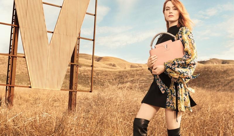 Emma Stone stars in Louis Vuitton Spirit of Travel 2018 campaign