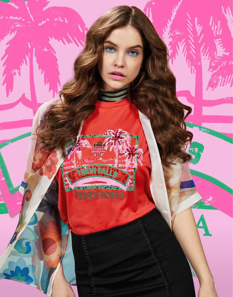 Barbara Palvin stars in Fendi Pop Tour campaign