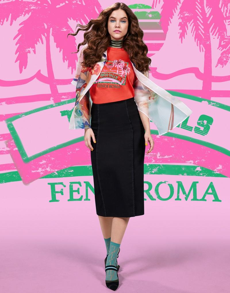 Fendi enlists Barbara Palvin for Pop Tour campaign