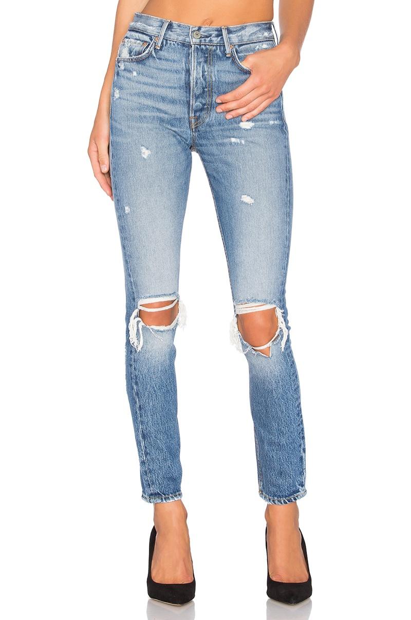 GRLFRND Karolina High-Rise Skinny Jean $248