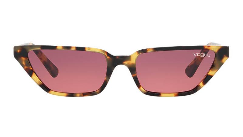 Gigi Hadid x Vogue Eyewear VO5235S 53 Sunglasses Purple/Tortoise $139.95