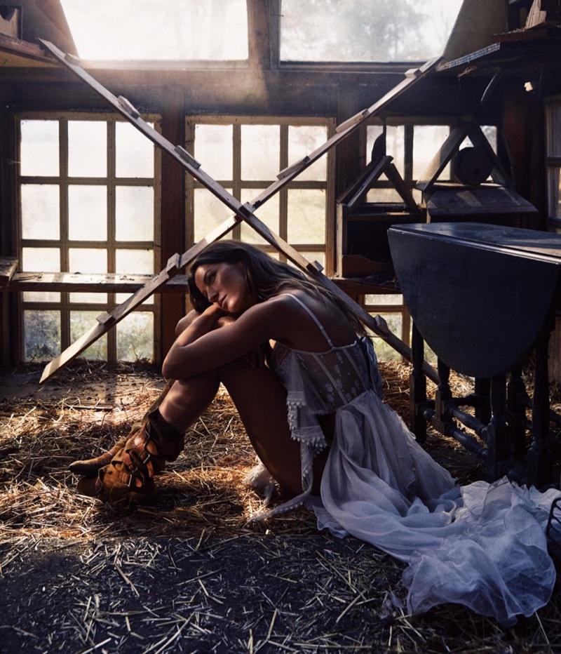 Gisele Bundchen is a Natural Beauty for WSJ. Magazine