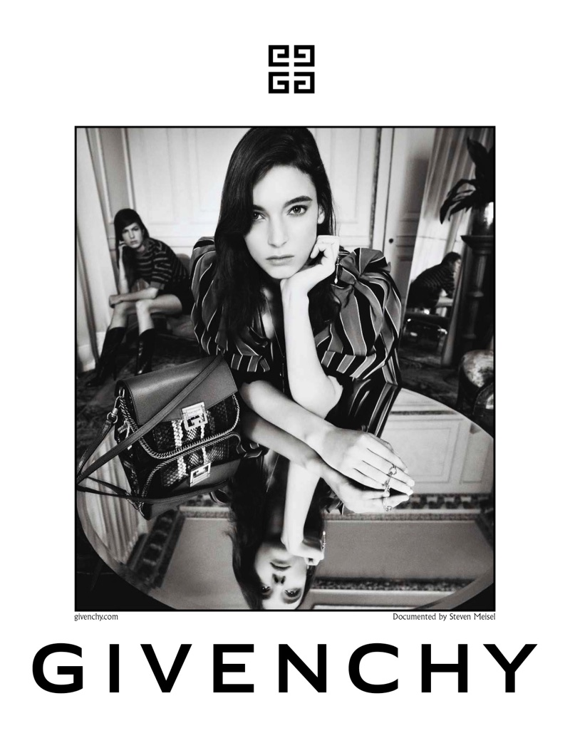 Ansley Gulielmi stars in Givenchy's spring-summer 2018 campaign