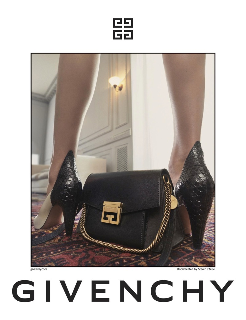 Givenchy focuses on bags and shoes for spring-summer 2018 campaign