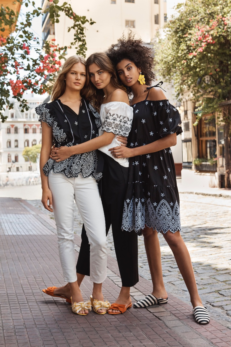 An image from H&M's spring 2018 advertising campaign