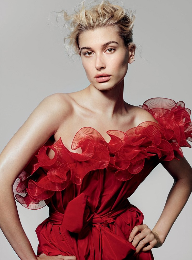 Hailey Baldwin Shows Off Her Moves for Vogue Turkey