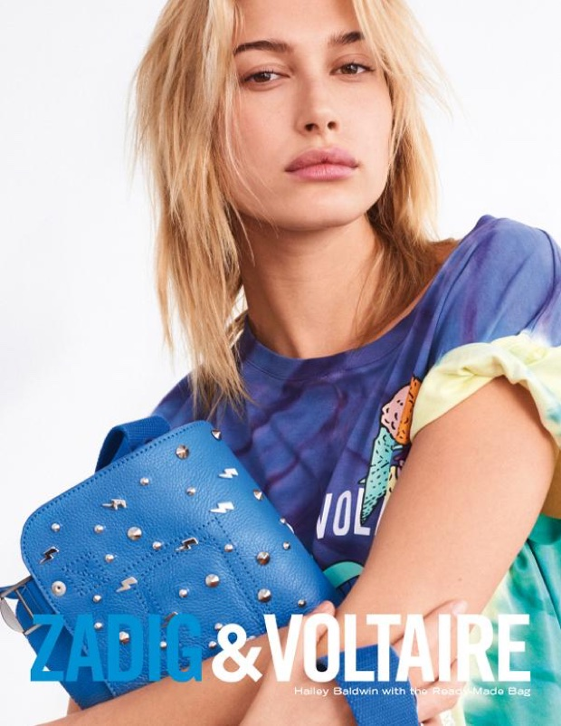 Hailey Baldwin stars in Zadig & Voltaire's spring-summer 2018 campaign