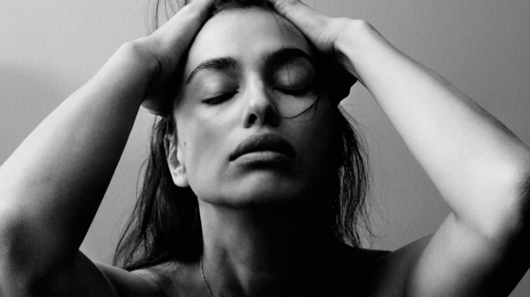 Irina Shayk Strips Down with Fresh Faced Look for Vogue Germany