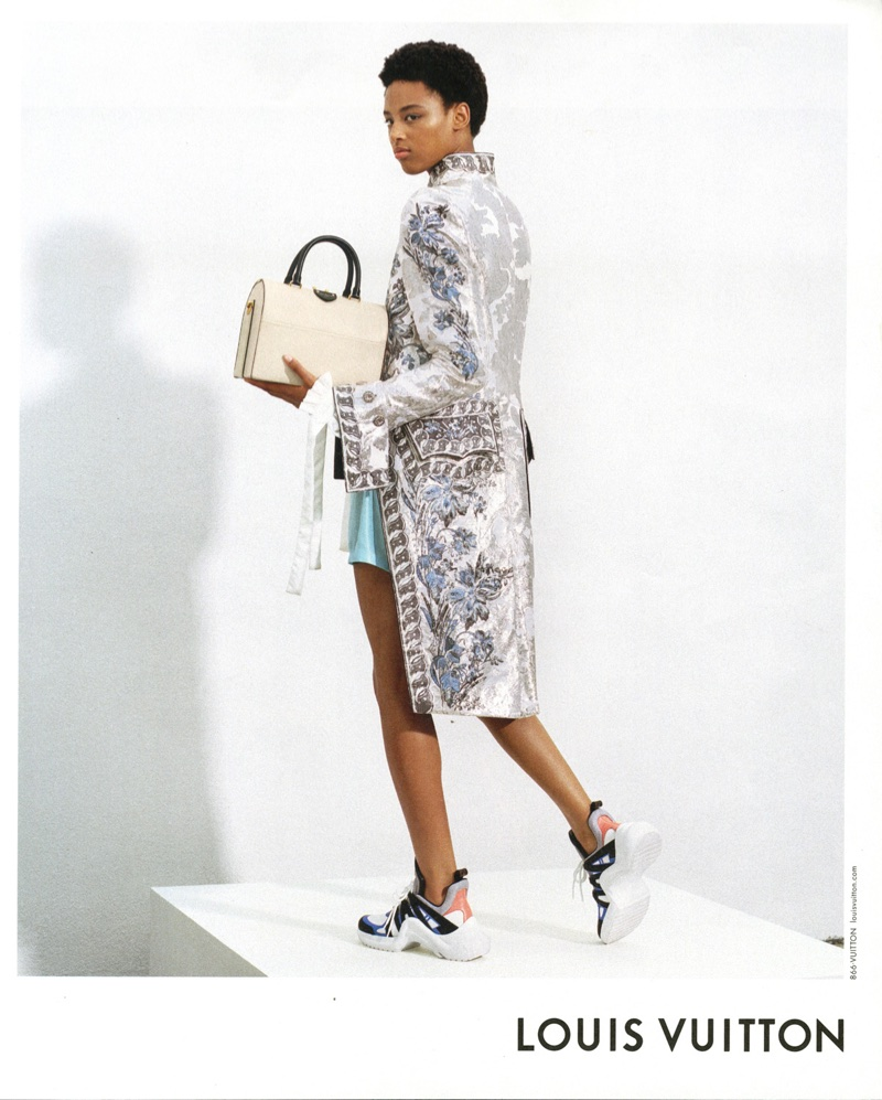 Janaye Furman fronts Louis Vuitton's spring-summer 2018 campaign