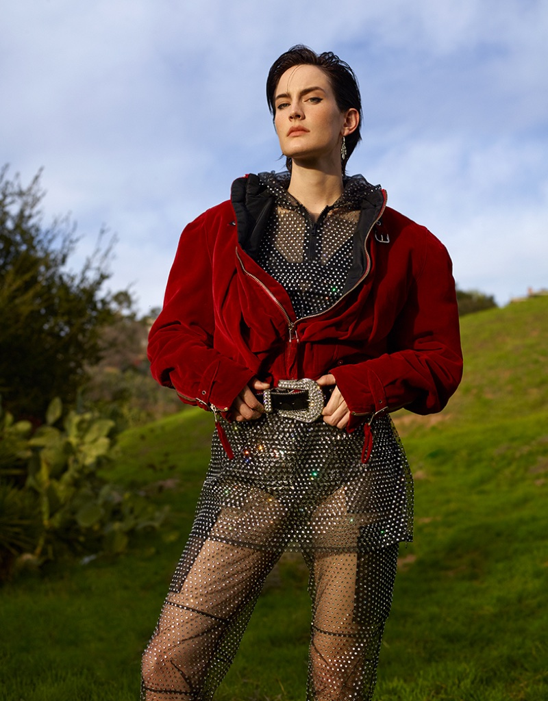 Jane Moseley Models Statement Styles for Numero Tokyo
