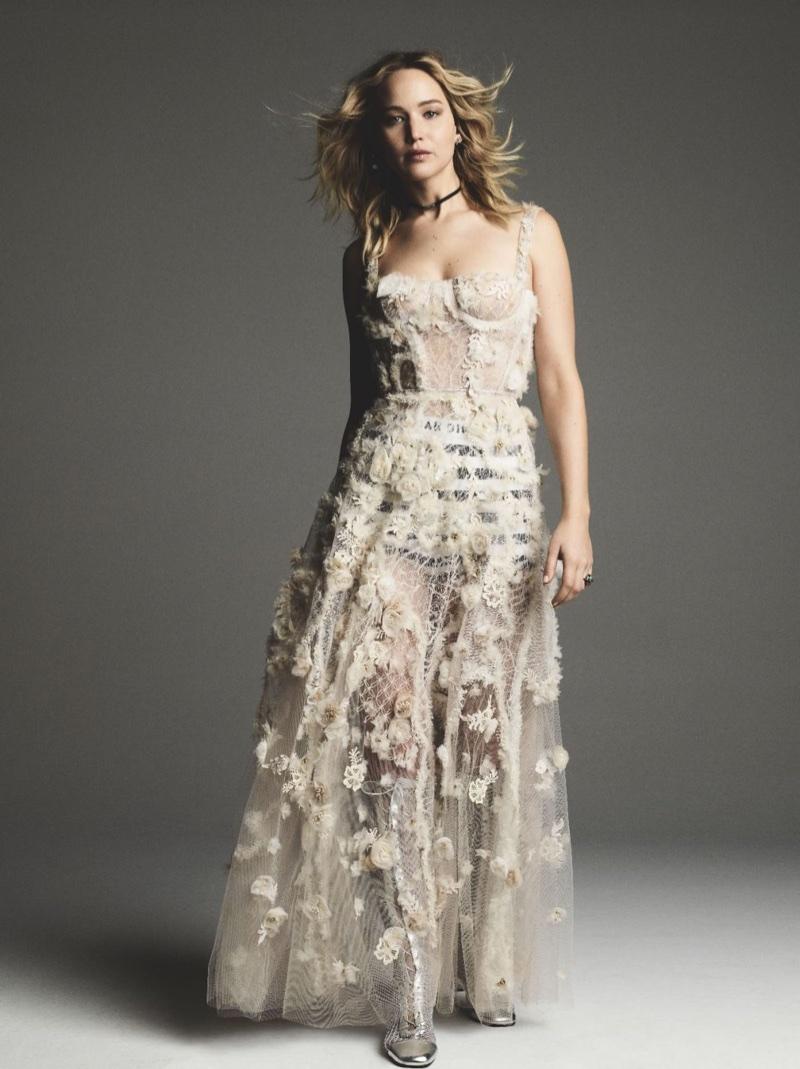 Jennifer Lawrence | Dior Fashion Shoot | Harper\'s Bazaar Taiwan ...