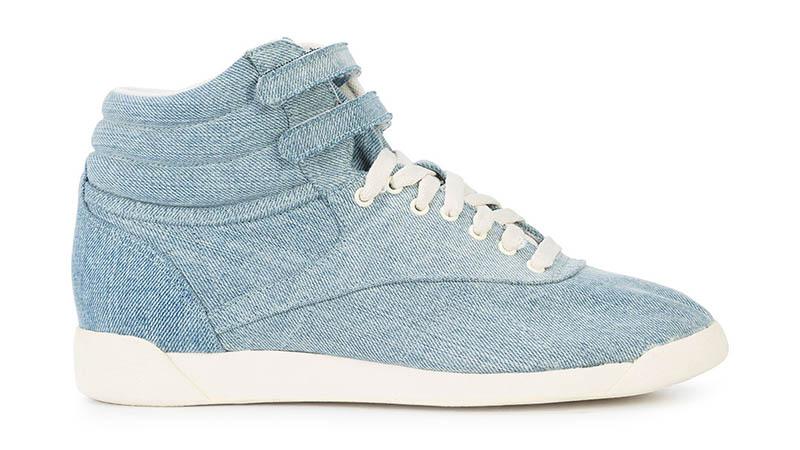 Jonathan Simkhai x Reebok Denim Lace-Up Sneakers $225