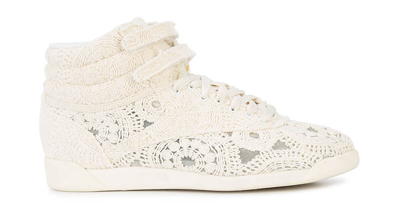 Jonathan Simkhai x Reebok Lace Embroidered Sneakers $245