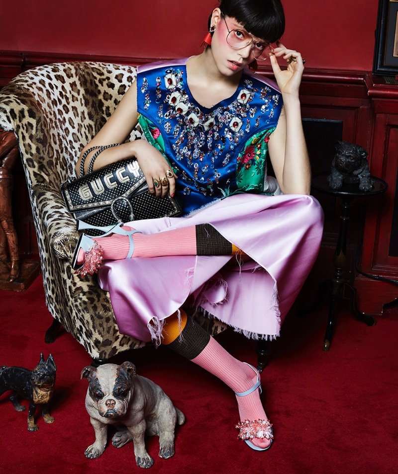 Josefien Rodermans Wears Whimsical Looks in Marie Claire Holland