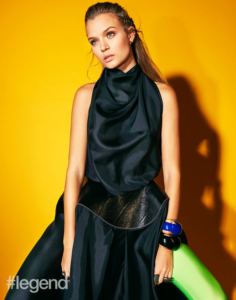 Josephine Skriver Poses in Statement Styles for #legend Magazine