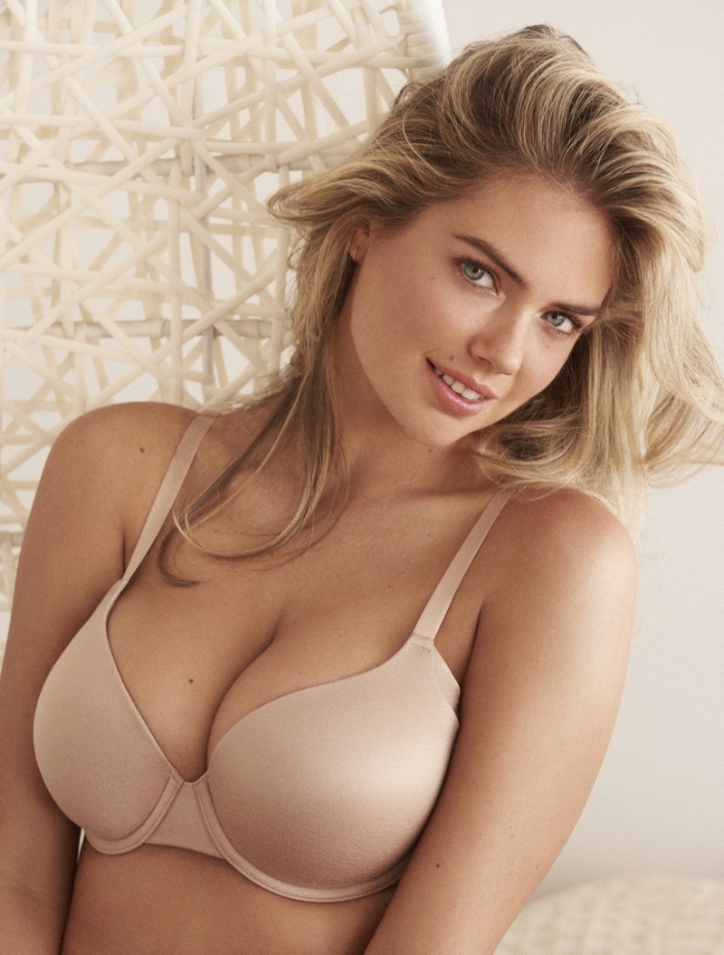 Lingerie brand Yamamay enlists Kate Upton for its spring-summer 2018 campaign