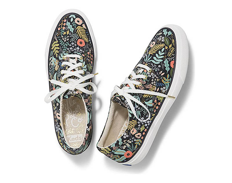 Keds x Rifle Paper Co 'Anchor' Sneaker in Lourdes Floral $70