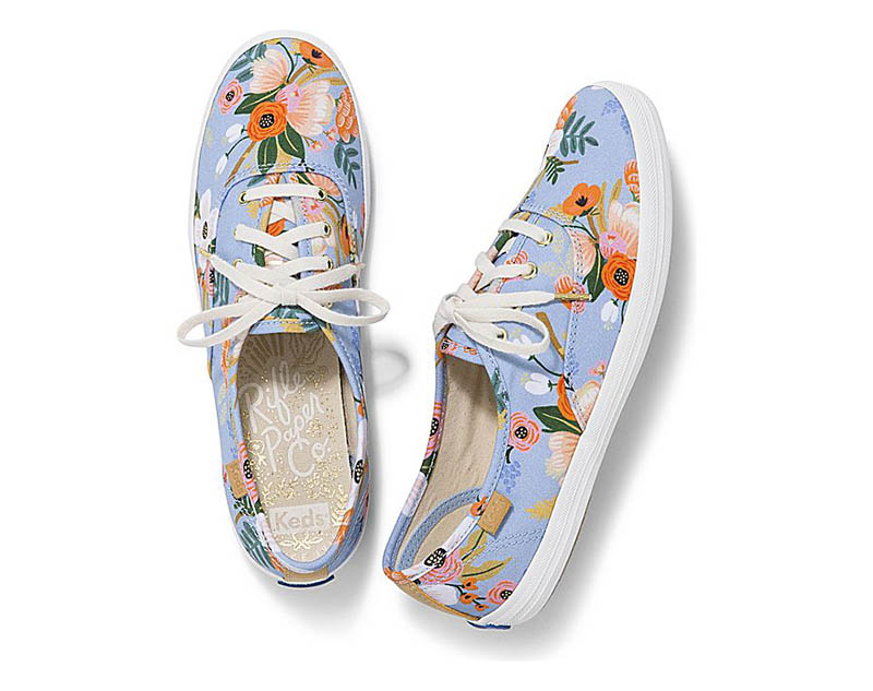 Keds Rifle x Paper Co 'Champion' Sneaker in Lively Floral $60