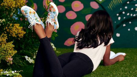 Keds x Rifle Paper sneakers