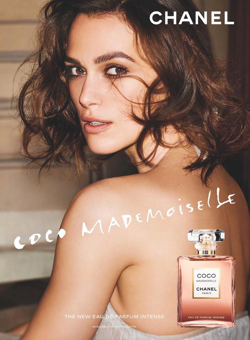 Keira Knightley stars in Chanel Coco Mademoiselle Eau de Parfum Intense campaign