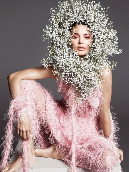Kendall Jenner Takes on the Spring Collections for Vogue