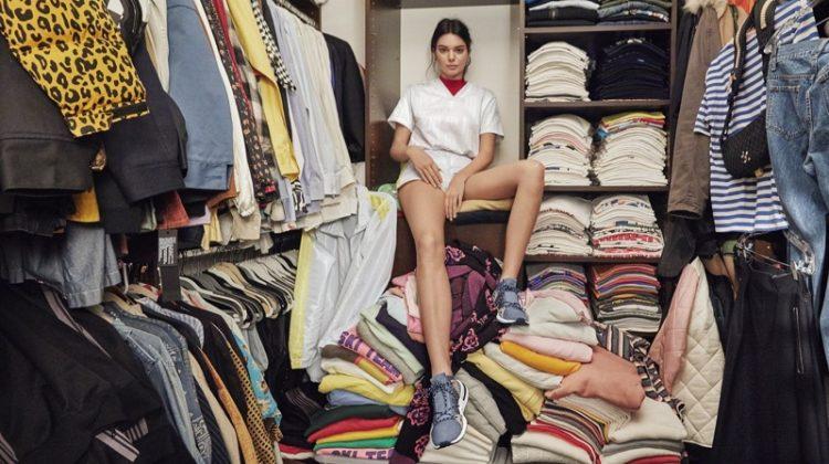Kendall Jenner Shows Off Her Closet for adidas Originals