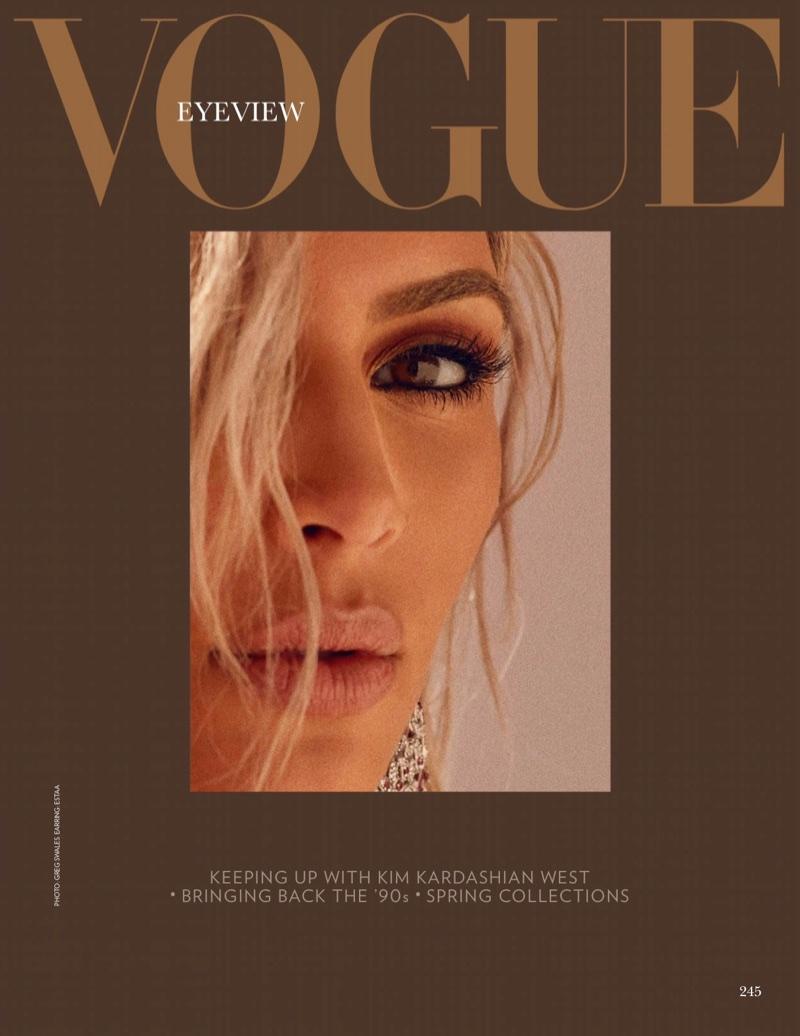 Kim Kardashian looks ready for her closeup
