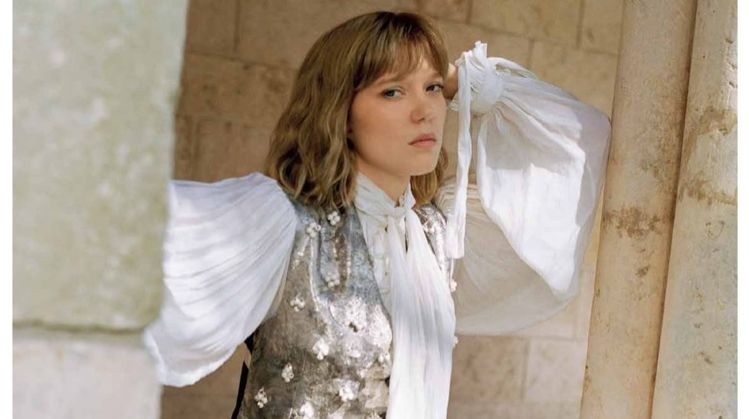 Lea Seydoux appears in Louis Vuitton's spring-summer 2018 campaign