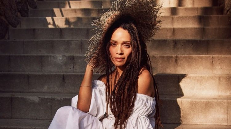 Lisa Bonet Poses in Bohemian Style for PORTER Edit