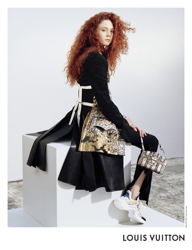Natalie Westling fronts Louis Vuitton's spring-summer 2018 campaign